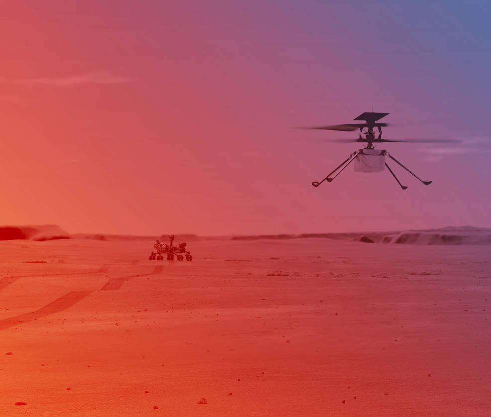 NASA: To πρώτο ελικόπτερο που θα πετάξει σε άλλο πλανήτη ετοιμάζεται για την πρώτη του πτήση!