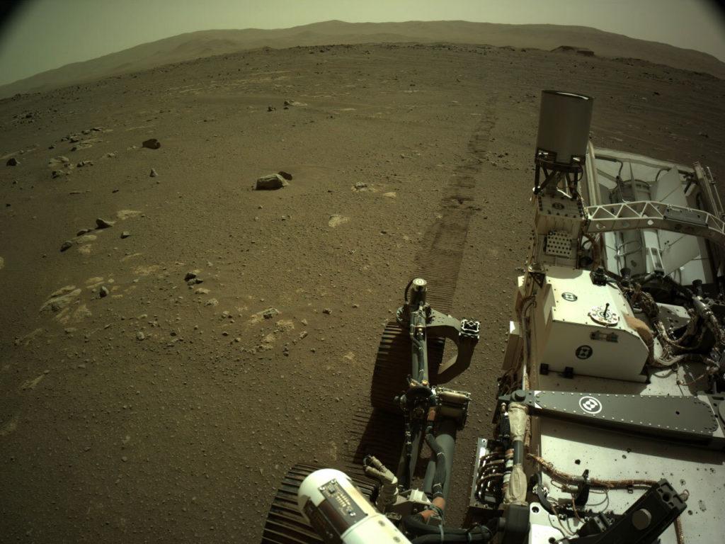 Perseverance Rover: Έστειλε τους πρώτους ήχους από την κίνηση του στον Άρη!