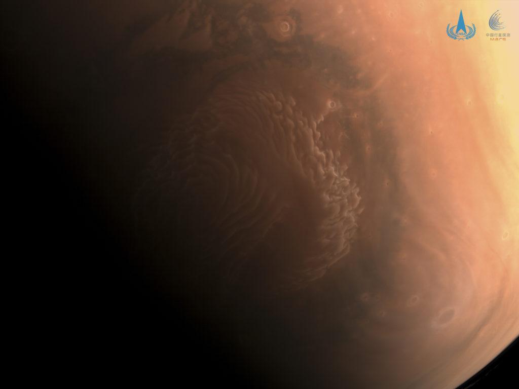 To Tianwen 1 της Κίνας έστειλε τις πρώτες εικόνες υψηλής ανάλυσης από τον Άρη!