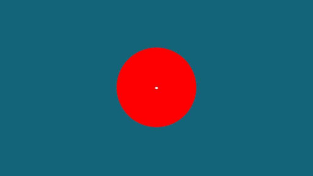 Αυτή η οπτική ψευδαίσθηση θα σου εμφανίσει το κυανό χρώμα, χωρίς να υπάρχει!