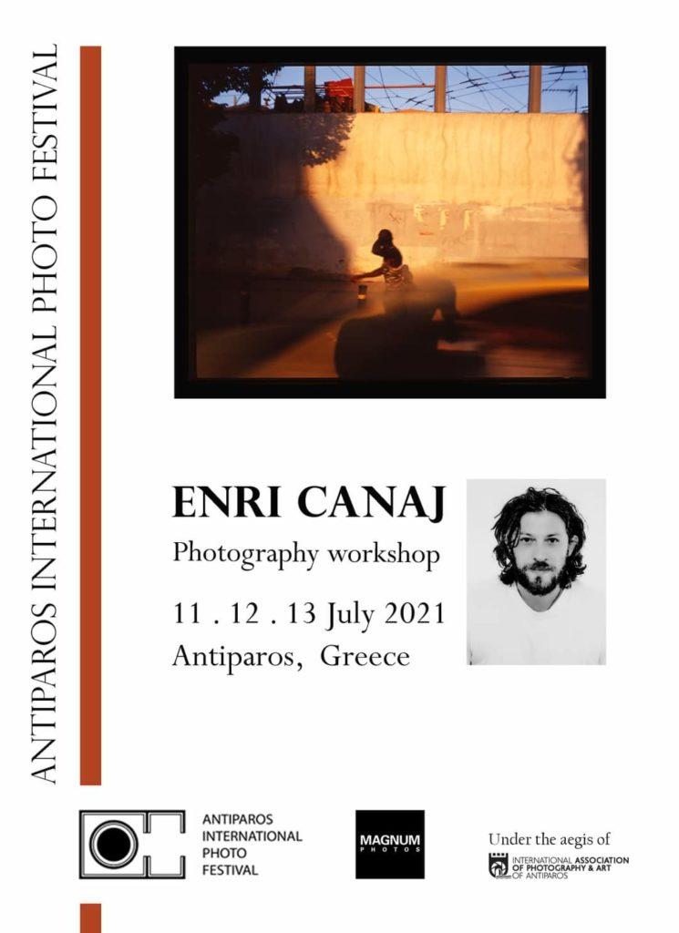 Φωτογραφικό Workshop του Enri Canaj στο Διεθνές Φεστιβάλ Φωτογραφίας Αντιπάρου!