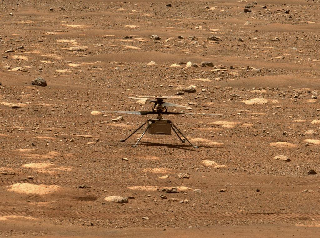 Η πρώτη πτήση του Ingenuity τελικά στις 14 Απριλίου, δείτε το βίντεο που τεστάρει τους έλικες του!