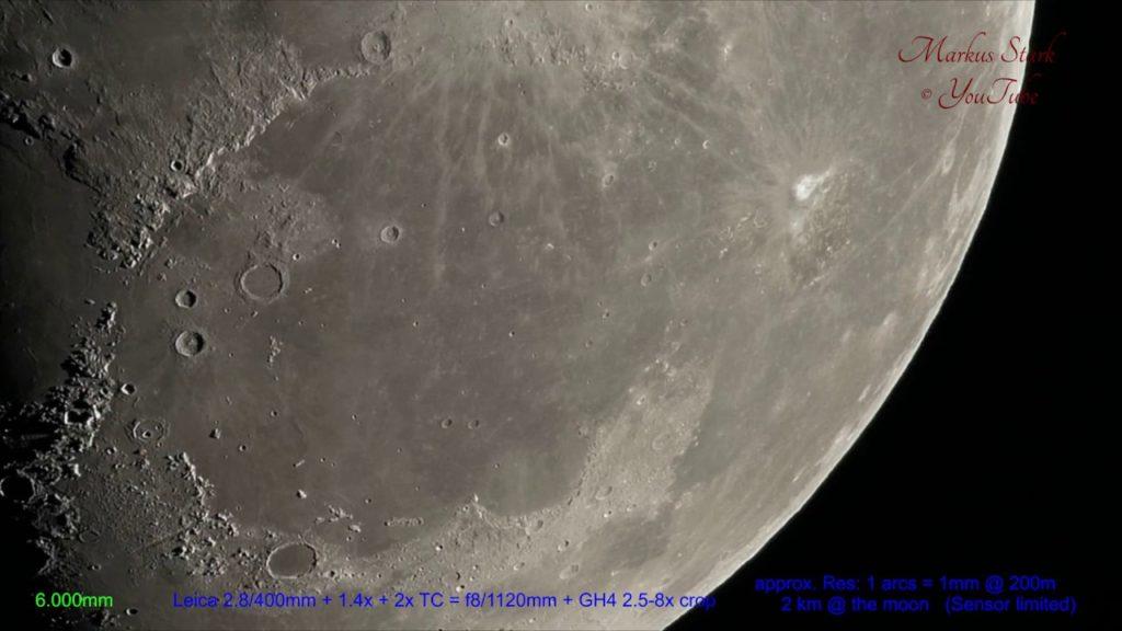 Δείτε σε 4Κ βίντεο πως φαίνεται η Σελήνη μέσα από ένα πανάκριβο modular Leica τηλεφακό!