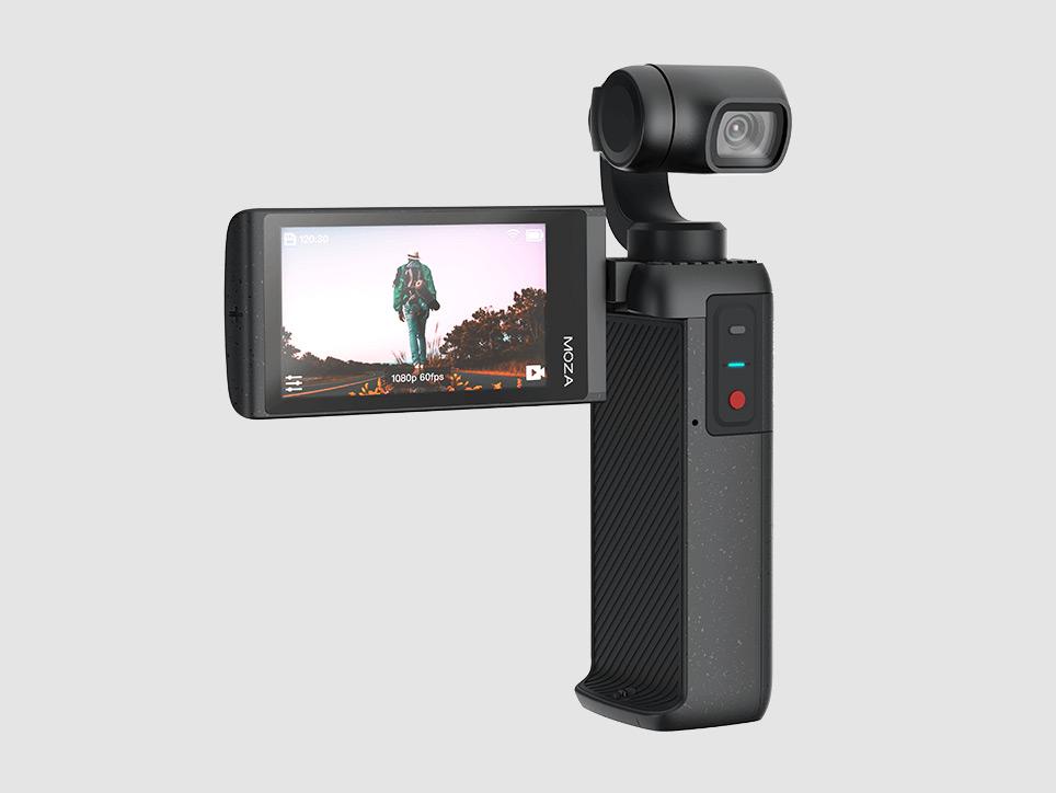 Moza Moin Camera: Νέα μικρή 4Κ κάμερα με gimbal μπαίνει απέναντι στο DJI Osmo Pocket!