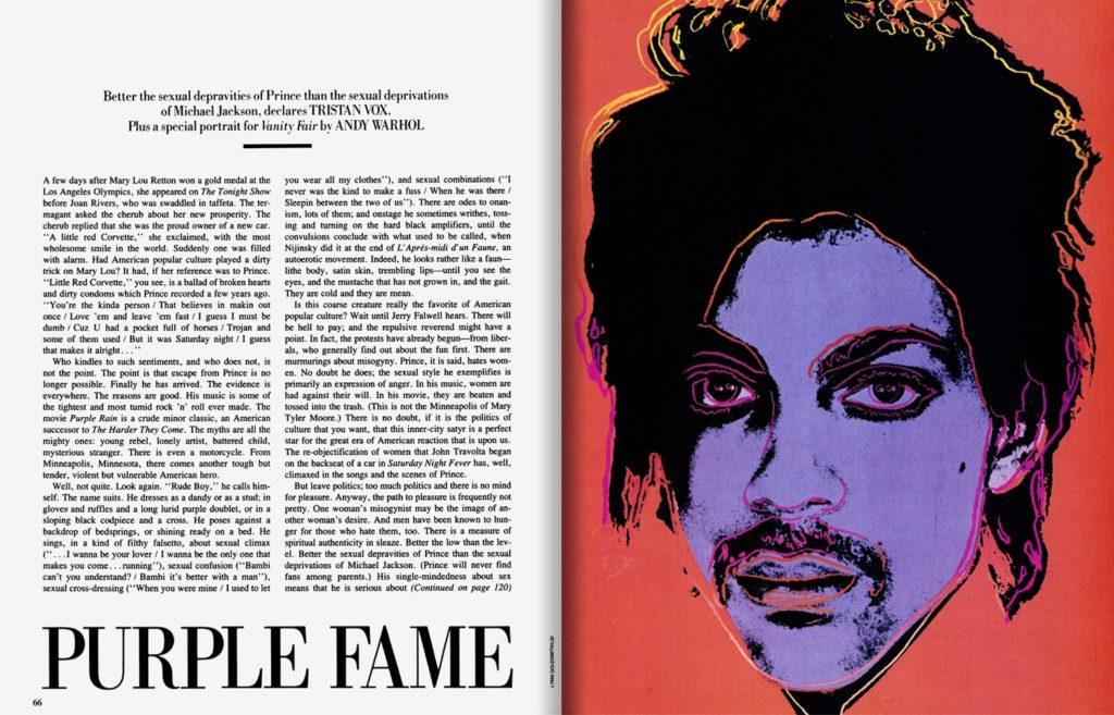 Φωτογράφος νίκησε το  Andy Warhol Foundation σε διαμάχη για ένα πορτραίτο του Prince