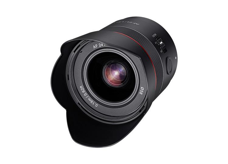Samyang AF 24mm F1.8 FE: Φακός για αστροφωτογραφία που εστιάζει αυτόματα στο άπειρο (και έχει LED)!