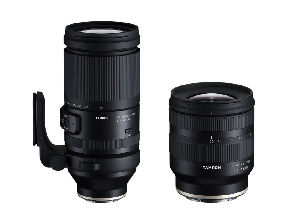 Ανακοινώθηκαν οι Tamron 150-500mm F5–6.7 και Tamron 11-20mm F2.8 για Sony κάμερες!