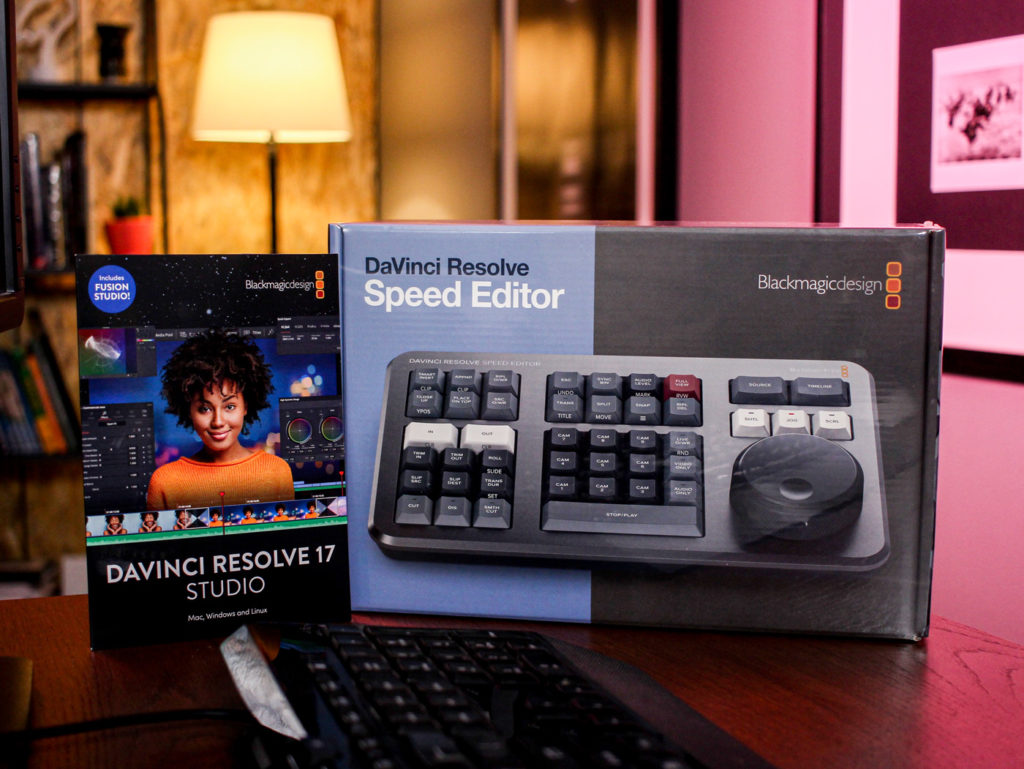 BlackMagic DaVinci Resolve: Αγόρασε το σε προσφορά με δώρο την κονσόλα Speed Editor!