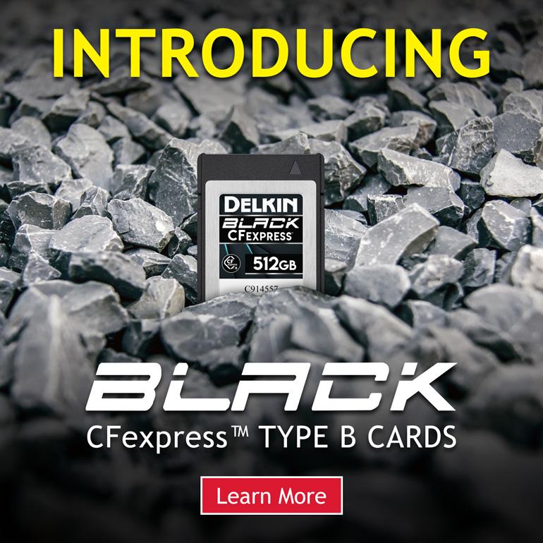 Delkin: Παρουσίασε νέες CFExpress κάρτες μνήμης Type B στη σειρά BLACK!