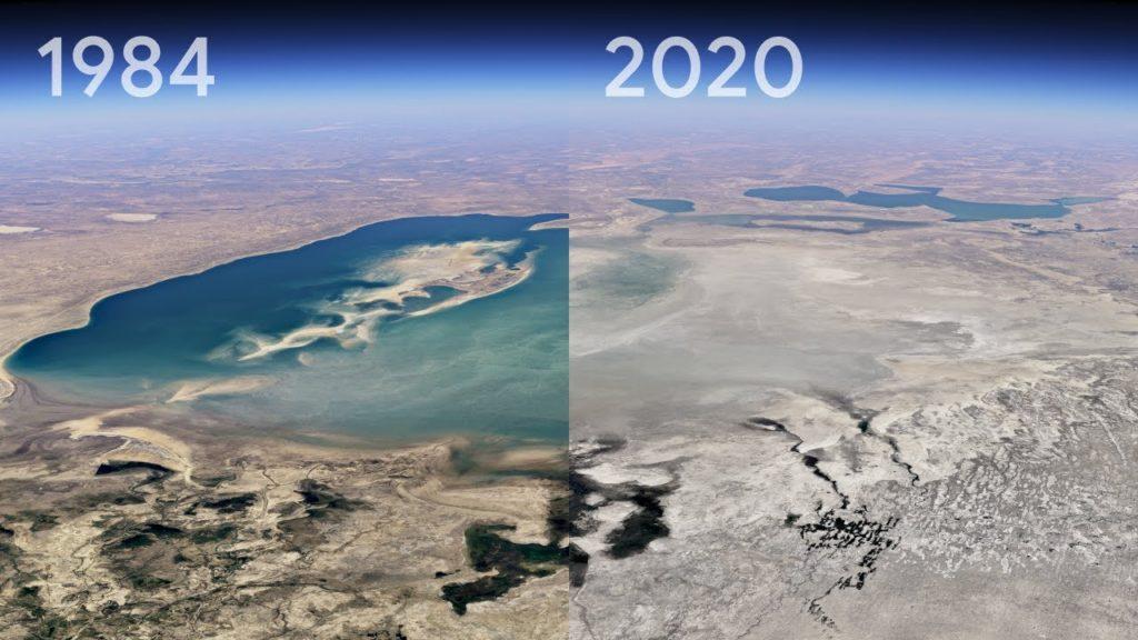 Google Earth: Νέα λειτουργία Time Lapse αποκαλύπτει την αλλαγή του πλανήτη!