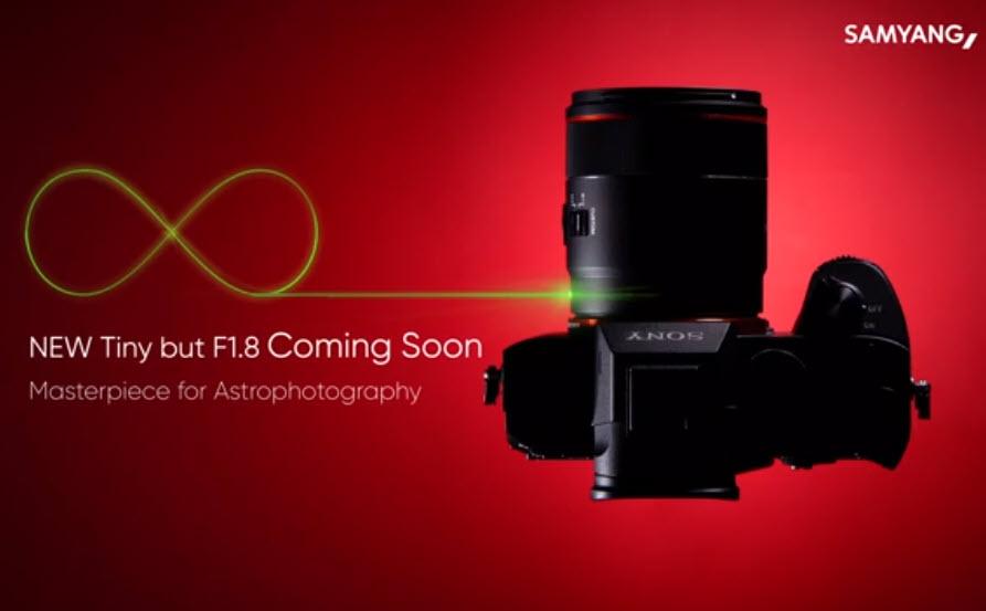 Ο νέος φακός της Samyang για αστροφωτογραφία θα σε βοηθάει να εστιάζεις στο σκοτάδι με LED!