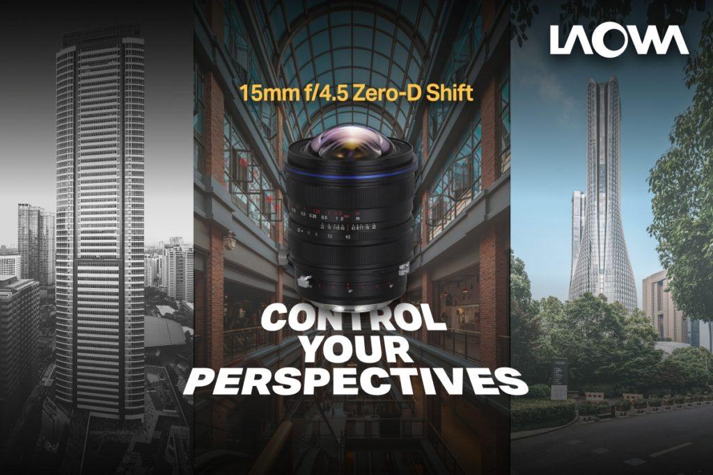 Ο Laowa 15mm f/4.5 Zero-D Shift διαθέσιμος για Leica L και Pentax K