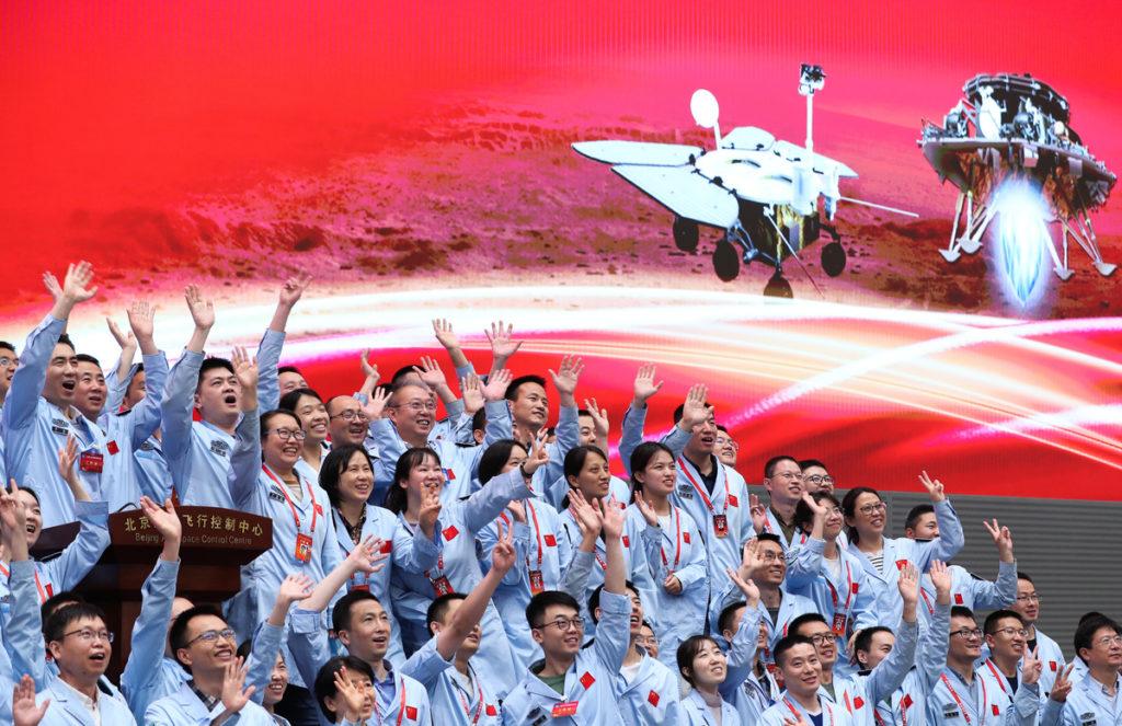 Προσγειώθηκε το Zhurong στον Άρη, το πρώτο κινεζικό rover και ναι θα μας στείλει εικόνες!