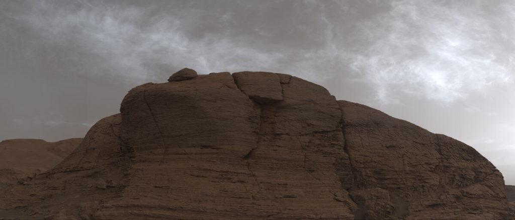Το Curiosity Rover της NASA έβγαλε φωτογραφίες τα  σύννεφα στον Άρη!