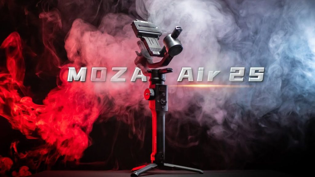 Moza Air 2S: Νέο gimbal με αυτονομία 20 ωρών και τιμή στα 499 δολάρια!