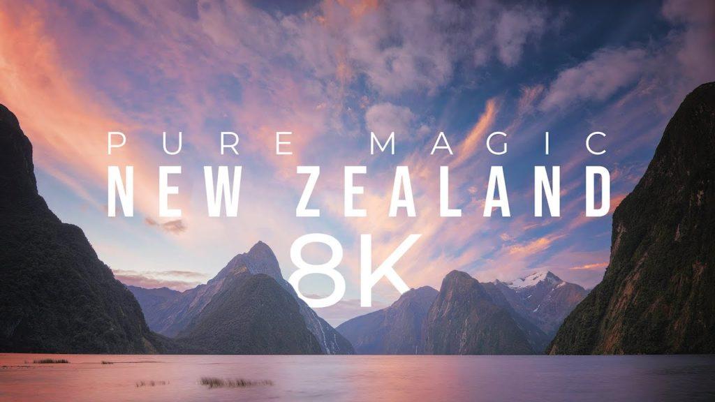 Eκπληκτικό 8K Time Lapse από την Νέα Ζηλανδία, ύμνος στην φύση της χώρας