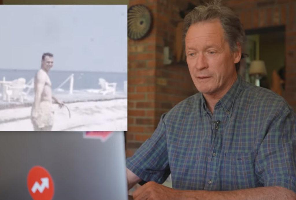 Άντρας βλέπει τον πατέρα του για πρώτη φορά σε βίντεο μέσα από μία ξεχασμένη ταινία 8mm
