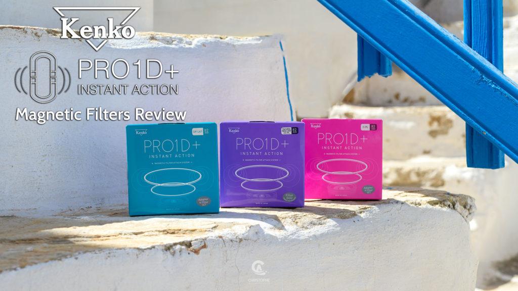 Τα νέα μαγνητικά φίλτρα Kenko PRO1D+ Instant Action θα σου κάνουν την ζωή πιο εύκολη!