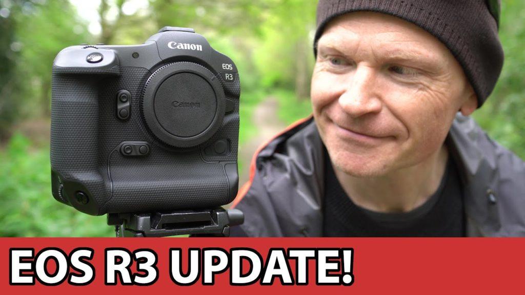 Canon EOS R3: Δείτε την στο πρώτο βίντεο στο YouTube!