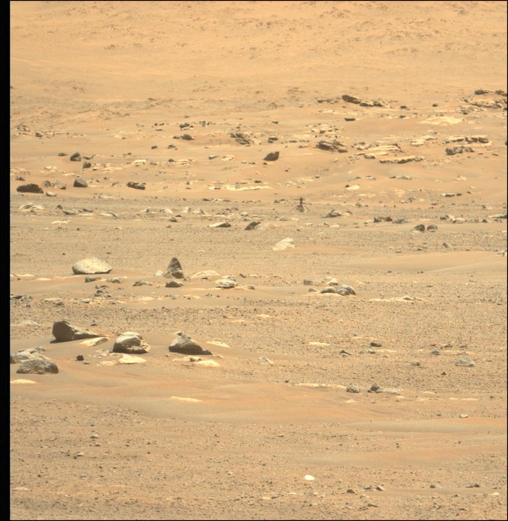 To Ingenuity της NASA στον Άρη αντιμετώπισε σοβαρό πρόβλημα στην έκτη πτήση του, εξαιτίας της κάμερας του!