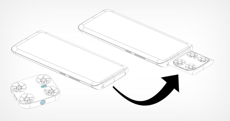 H Vivo σχεδίασε Smartphone με ενσωματωμένο μινι Drone!