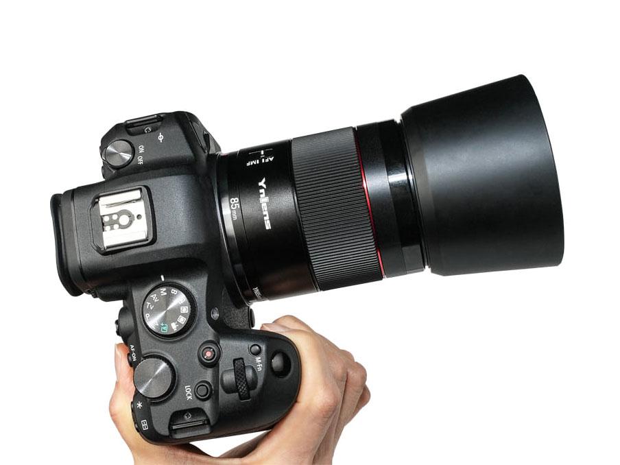 Νέος φακός Yongnuo YN 85mm f/1.8R DF DSM για Canon EOS R κάμερες!