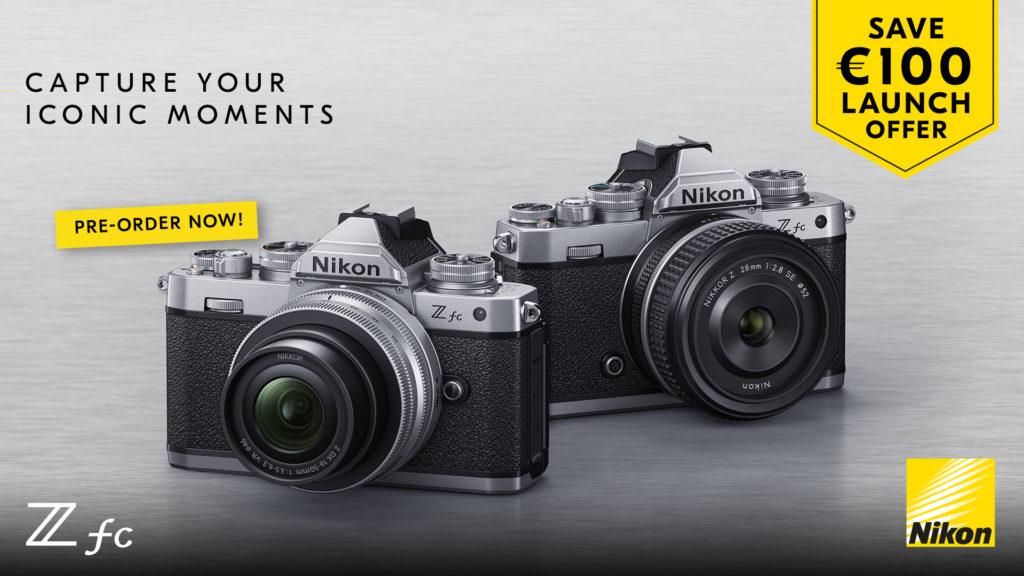 Cashback 100 ευρώ από την Nikon με την αγορά των Nikon Z fc, Nikon D3500 και Nikon D5600
