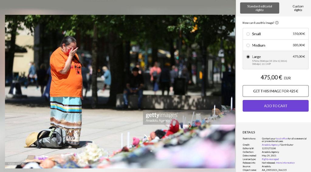 Μία γυναίκα σκέφτεται να κινηθεί νομικά εναντίον του Getty Images για μία φωτογραφία που την απεικονίζει