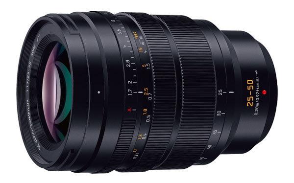 Panasonic Leica DG VARIO-SUMMILUX 25-50mm F1.7 ASPH: Διέρρευσαν τα χαρακτηριστικά του!