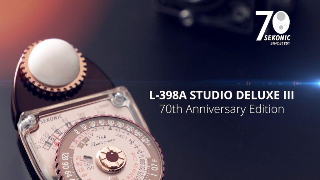 Η Sekonic γιορτάζει την 70η επέτειο της με ρετρό φωτόμετρο
