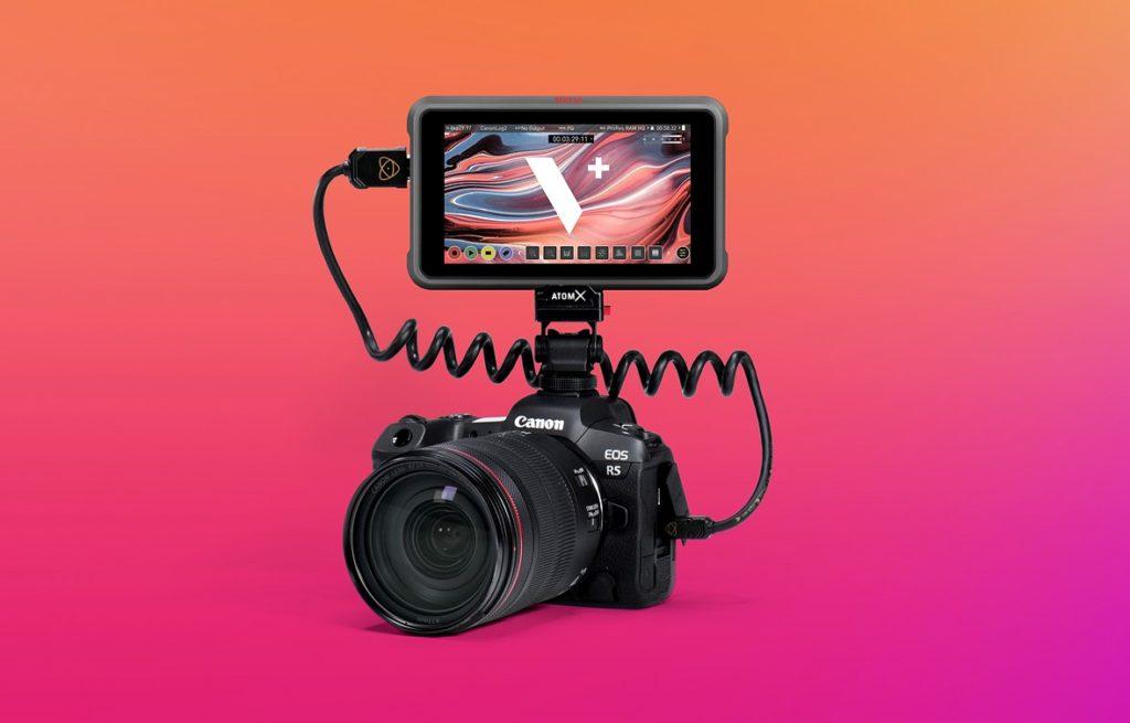 Νέο Firmware για τα Ninja V και Ninja V+ με υποστήριξη για λήψη 5Κ και 8K ProRes RAW βίντεο στην Canon  EOS R5