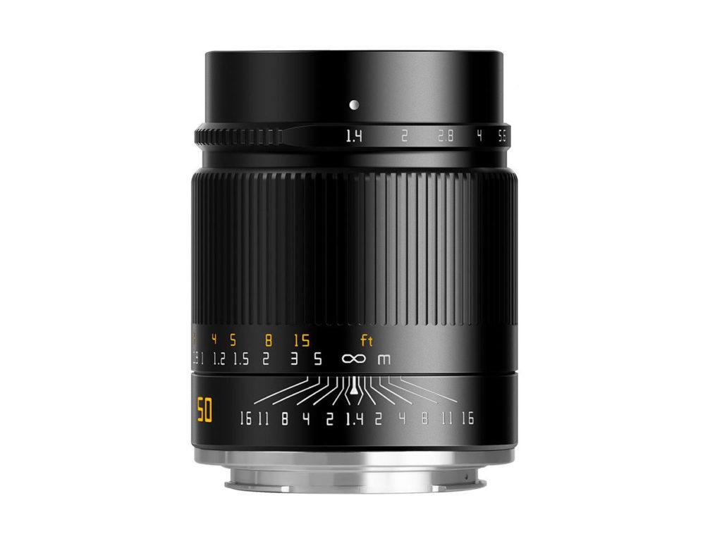 TTArtisan 50mm F1.4 ASPH: Νέος φακός για Full Frame mirrorless κάμερες με τιμή στα 235 δολάρια!