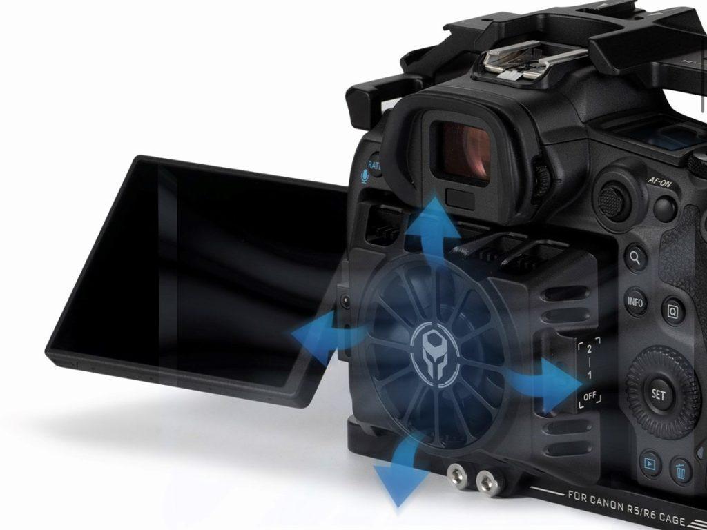 Διαθέσιμος ο ανεμιστήρας ψύξης της Tilta για τις Canon EOS R5 και Canon EOS R6, με τιμή 165 δολάρια!