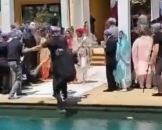 Φωτογράφοι Γάμου: Μην περπατάτε προς τα πίσω αν δεν ξέρετε που πάτε, υπάρχουν και οι πισίνες [βίντεο]!