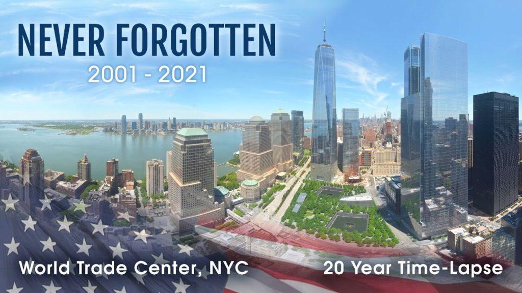 Αυτό το Time Lapse βίντεο από το World Trade Center έγινε μέσα σε 20 χρόνια, με περισσότερες από 13.3 εκατομμύρια φωτογραφίες!