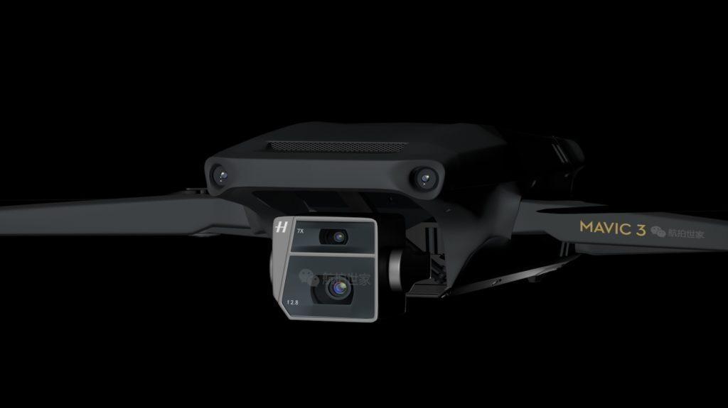 Το DJI Mavic 3 θα έχει αισθητήρα εικόνας Four Thirds;