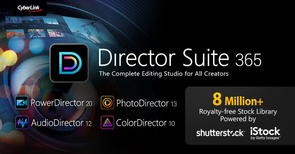 H Cyberlink παρουσιάζει την Director Suite 365 με εργαλεία ΑΙ για επεξεργασία βίντεο, ήχου και εικόνων!