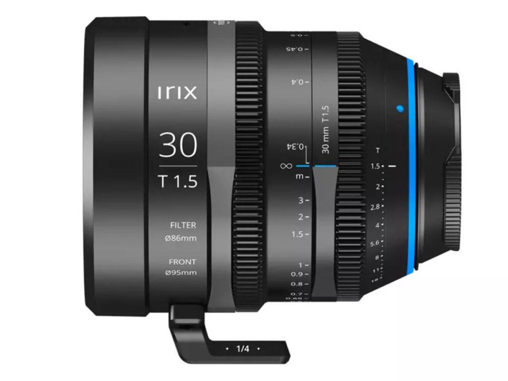 H Irix παρουσίασε τον νέο κινηματογραφικό φακό Irix T1.5 30mm, με τιμή 1.195 δολάρια!