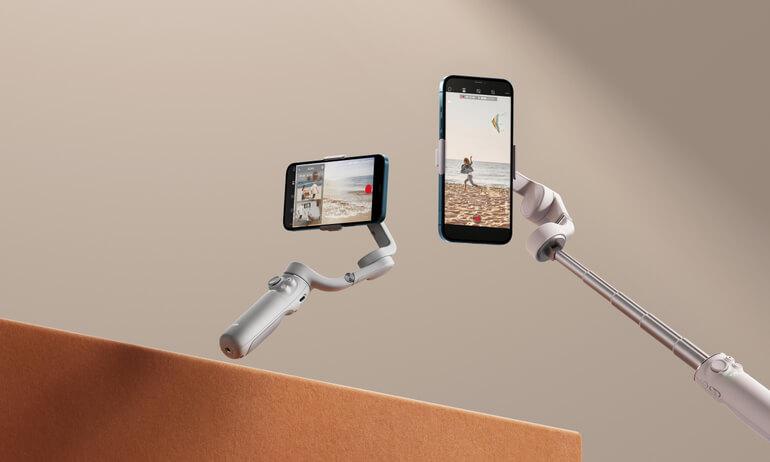 DJI OM5: Νέο gimbal για smartphone με ενσωματωμένο selfie stick και τιμή 159 ευρώ!