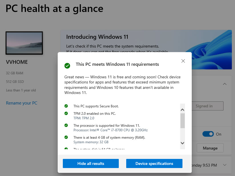 Microsoft PC Health: Δες αν το PC σου μπορεί να αναβαθμιστεί στα Windows 11!