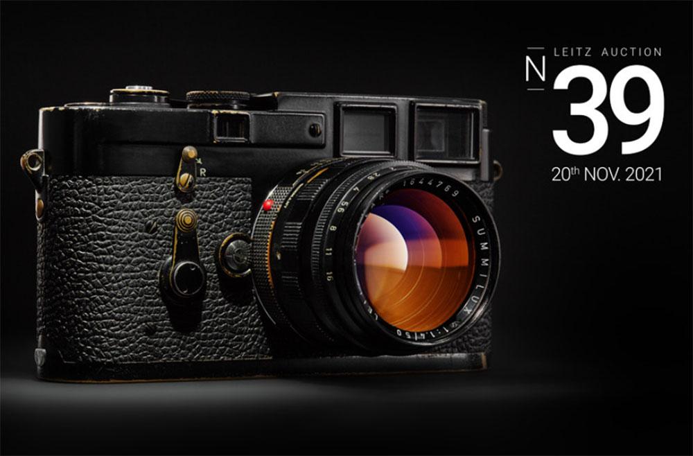 39th Leitz Photographica Auction: Κάμερα τουφέκι, διαστημική κάμερα, Leica κάμερες και φακοί θα δημοπρατηθούν για εκατοντάδες χιλιάδες ευρώ!