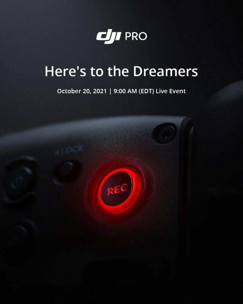 DJI: Νέο teaser για μία επαγγελματική συσκευή κινηματογραφικής λήψης