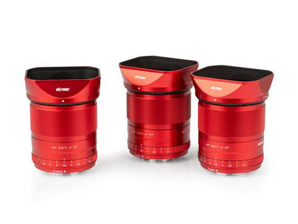 Η Viltrox παρουσίασε περιορισμένη έκδοση των φακών της για Fujifilm κάμερες σε κόκκινο χρώμα!