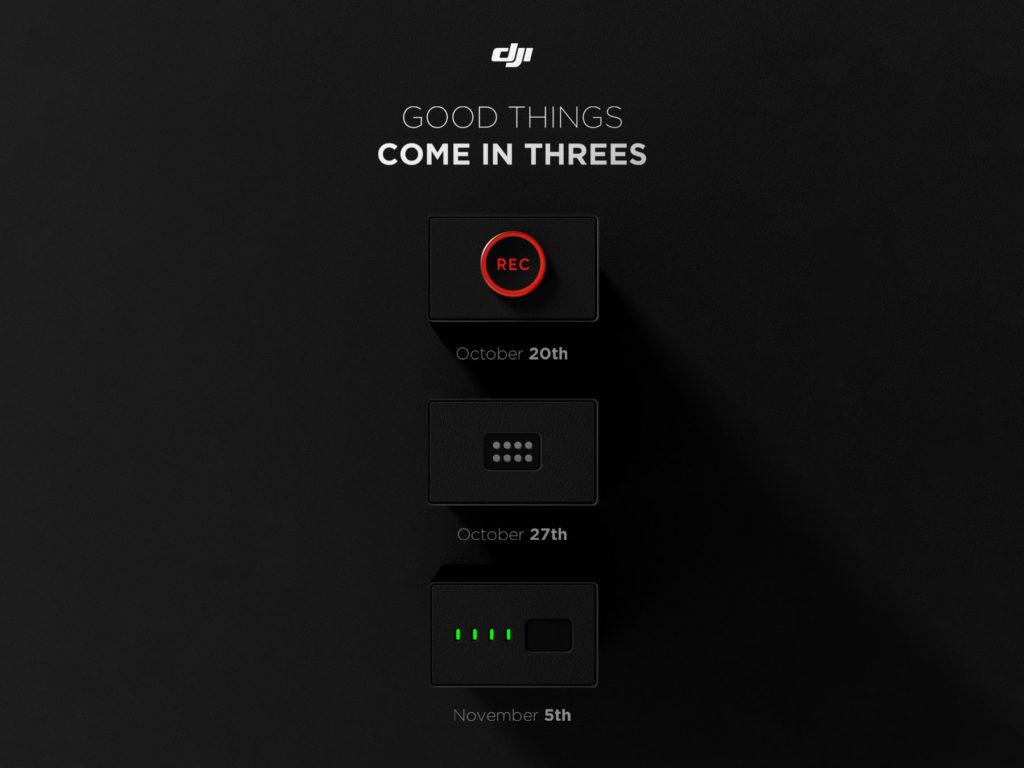 DJI: Νέο teaser επιβεβαιώνει την παρουσίαση τριών νέων προϊόντων (DJI Mavic 3, DJI Action 2, όχι το DJI Mini 3;)