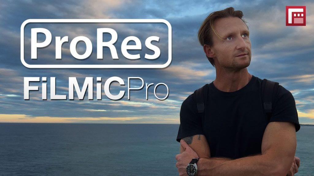 Το FiLMiC Pro επιτρέπει την εγγραφή ProRes στα iPhone 13 Pro και Pro Max!